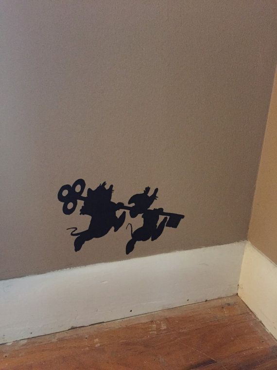 Cinderella vinyl wall decor
