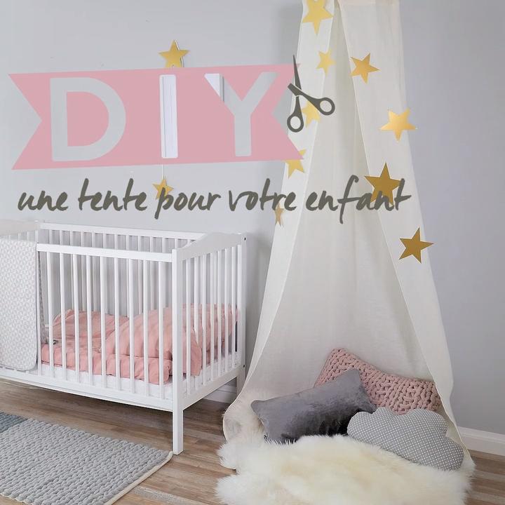 ⭐️DIY – Tente pour enfant