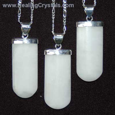 Crystal pendants white aventurine tongue pendant white crystal pendants white aventurine tongue pendant white aventurine healing crystals aloadofball Images