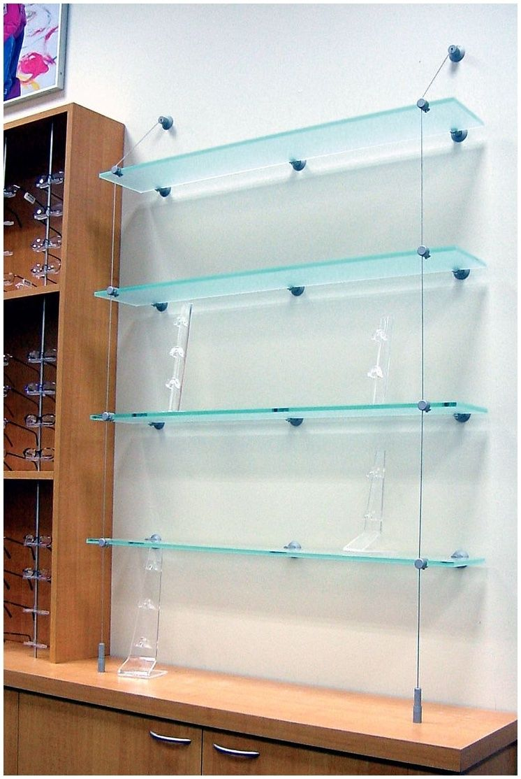 Cable Suspended Glass Shelves Cable Suspended Glass Shelves ...