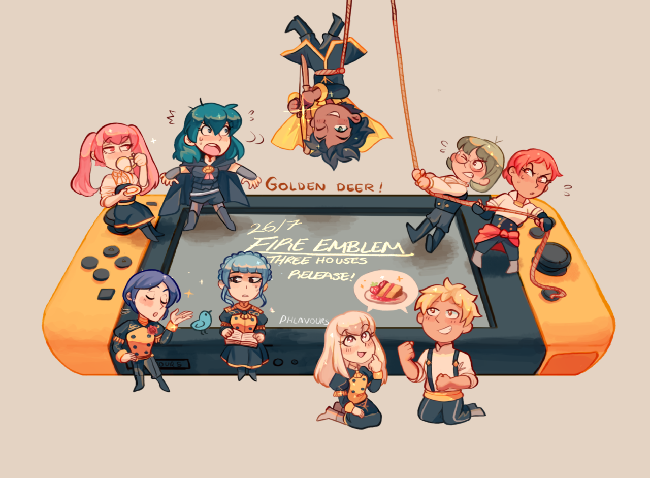 Happy Fire Emblem 3 Houses Release I M Going With Golden Deer What About You Fire Emblem Characters Fire Emblem Wallpaper Fire Emblem