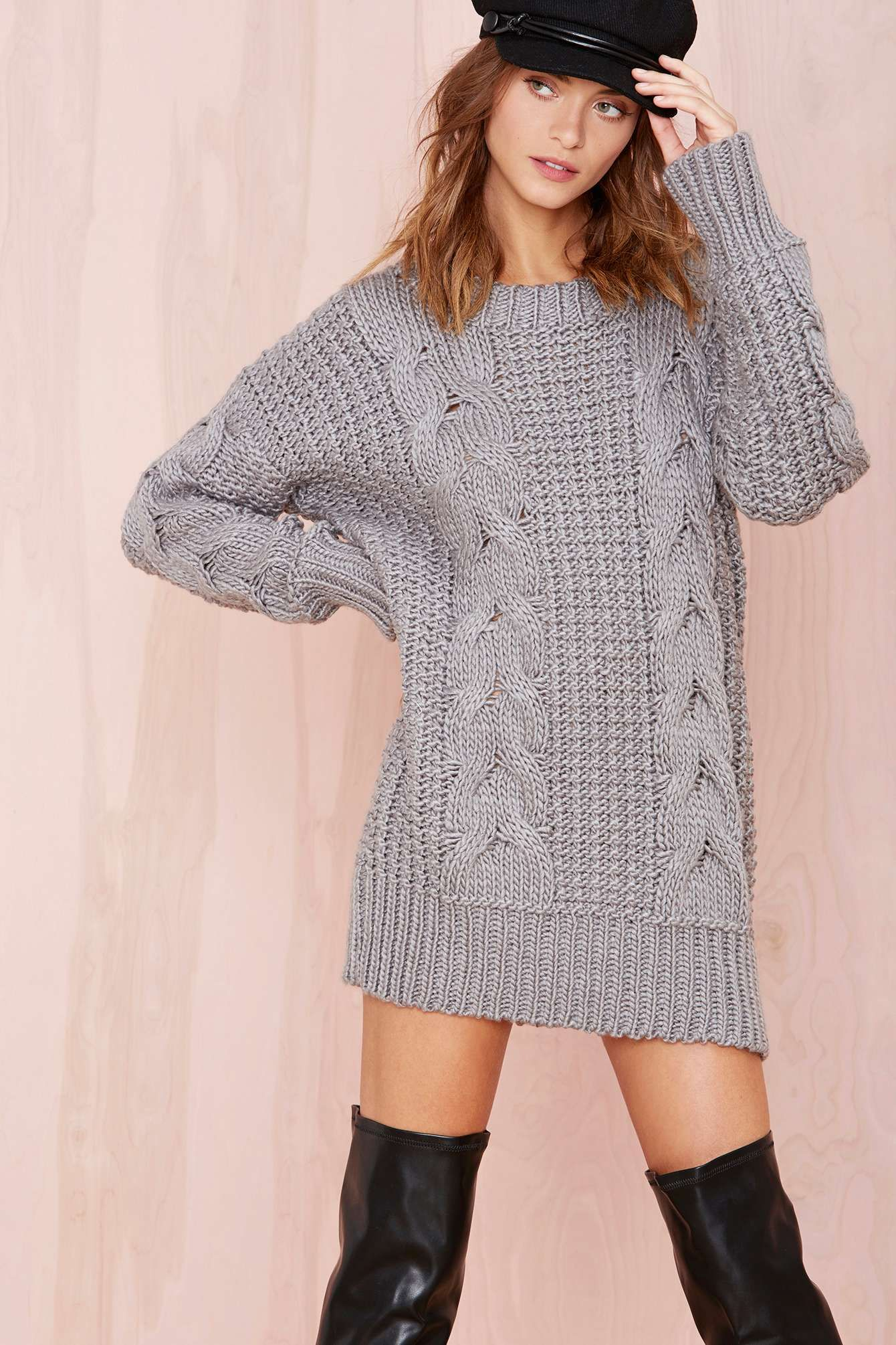 Look - Sweater Cable dress video