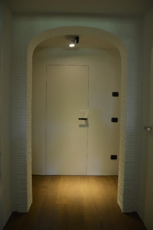 Serramenti scorrevoli a scomparsa triplo vetro e porte invisibili light pinterest porte - Porte invisibili scorrevoli ...