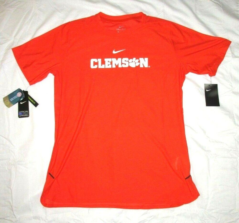 7b39c0479a Nike Clemson Tigers Dri-FIT Shirt Mens L Orange #Nike | Nike College ...