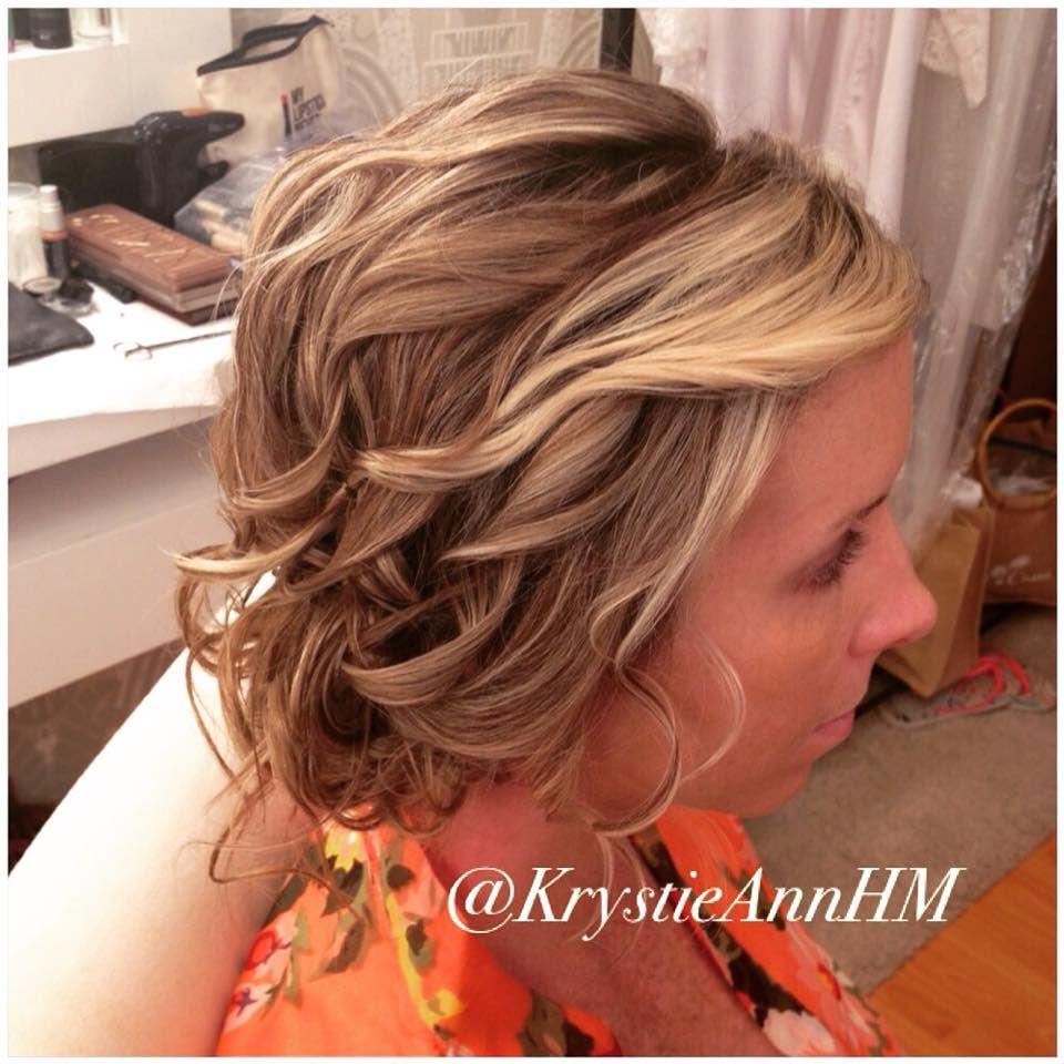 Hair: www.krystieann.com  Blonde hair, blonde updo, textured updo, bridesmaid hair, updo, wedding hair, bridal hair