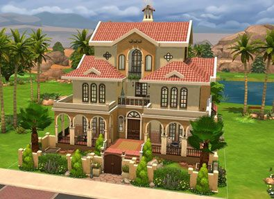 Casa Martina Build By Superpogimon In The Sims 4 Is The Best Home