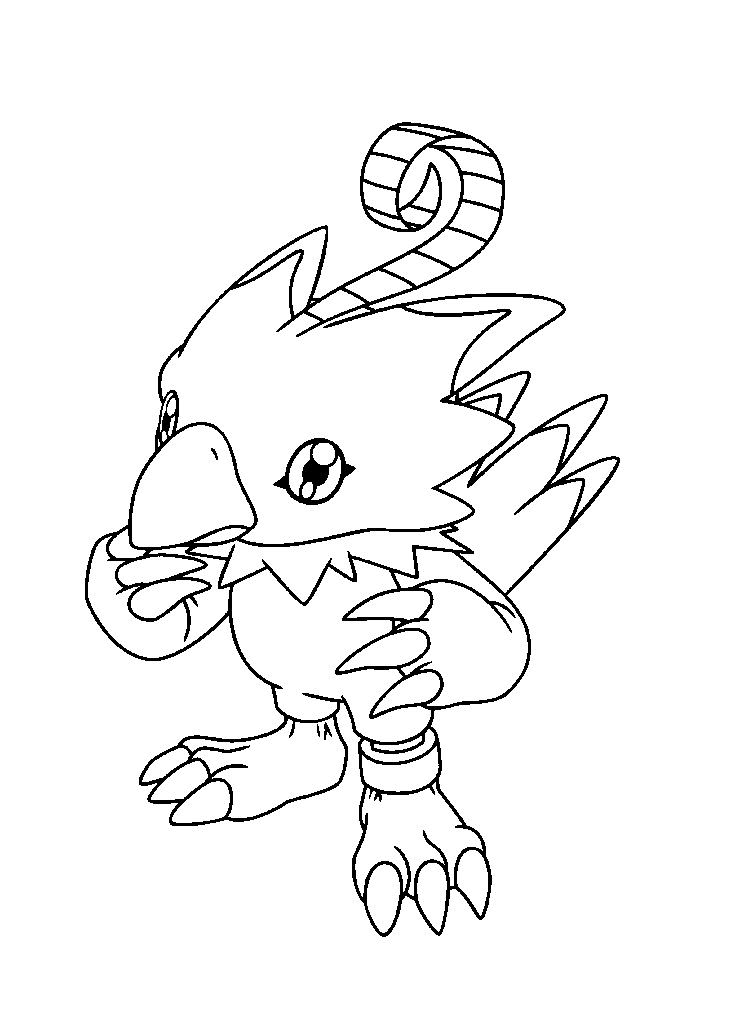 Digimon Coloring Pages Coloringpages1001 Com Cartoon Coloring Pages Poppy Coloring Page Coloring Pages