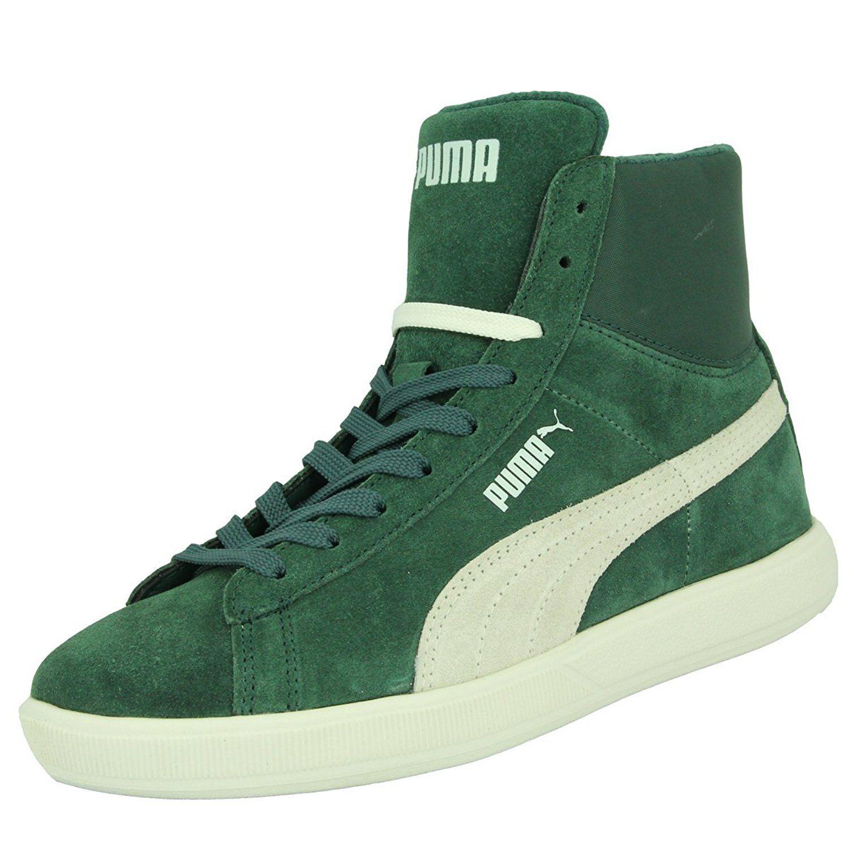187b6aeeac97e0 Puma ARCHIVE LITE MID SUEDE Grun Wildleder Unisex Sneakers Schuhe Neu   Amazon.de  Schuhe   Handtaschen