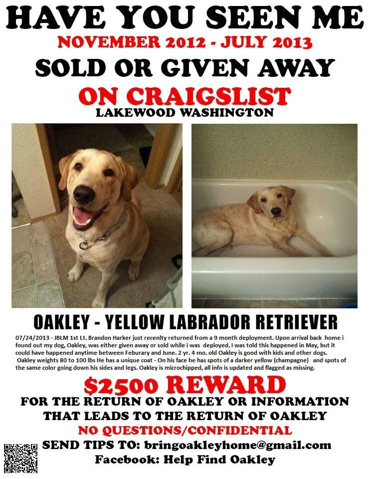 BRING OAKLEY HOME
