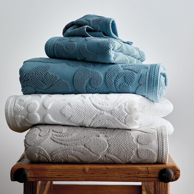 Fleur Supima Towel Bath Towels Luxury Outdoor Cushions And