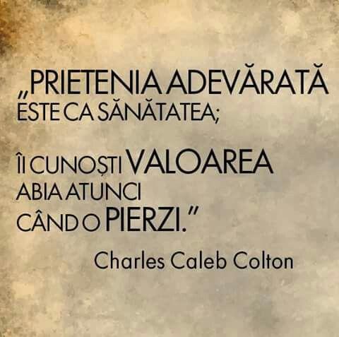 Prietenia | True words, Words, Quotes