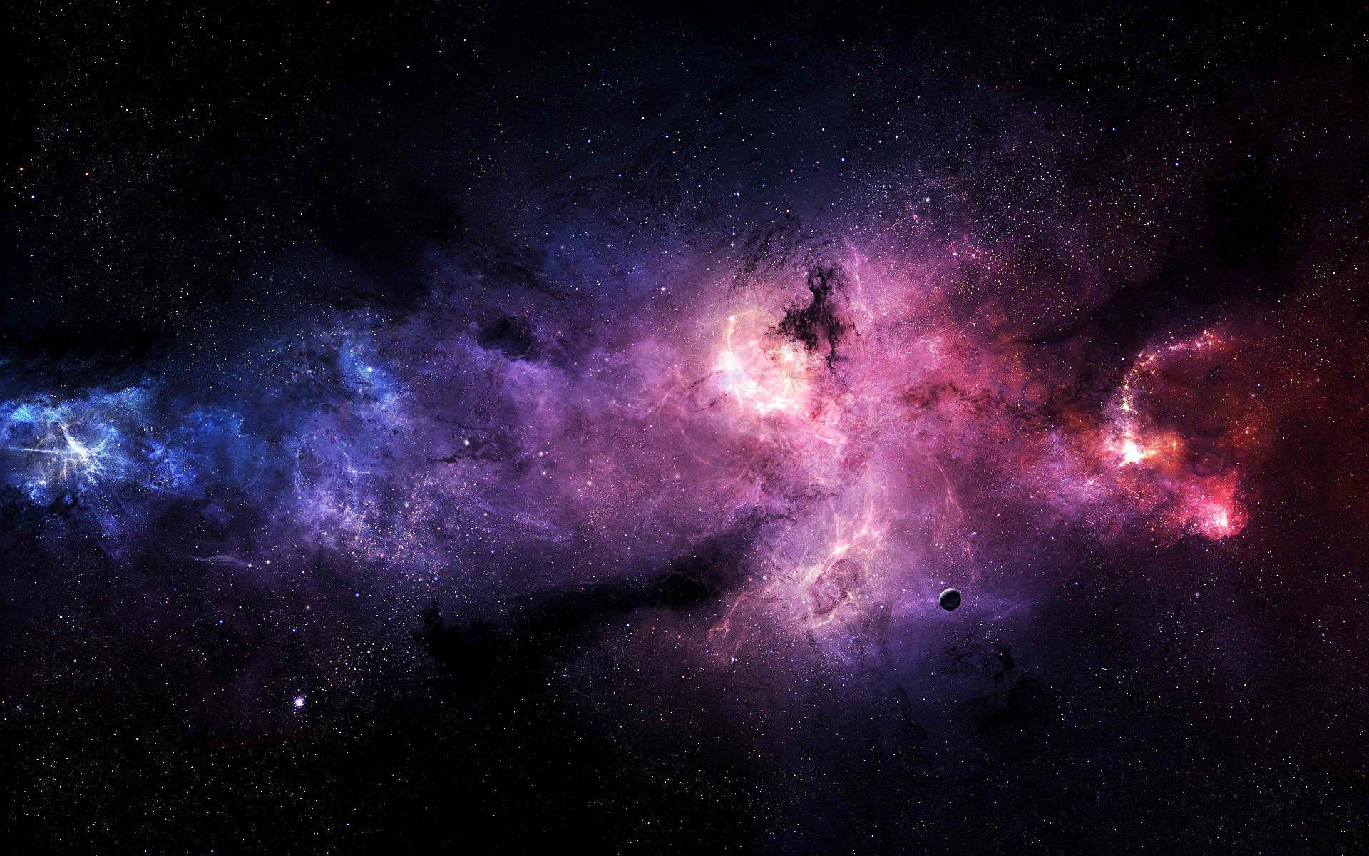 Galaxy Wallpaper For Computer Fundo Hd Wallpaper Fotos De Galaxias Wallpapers Para Pc