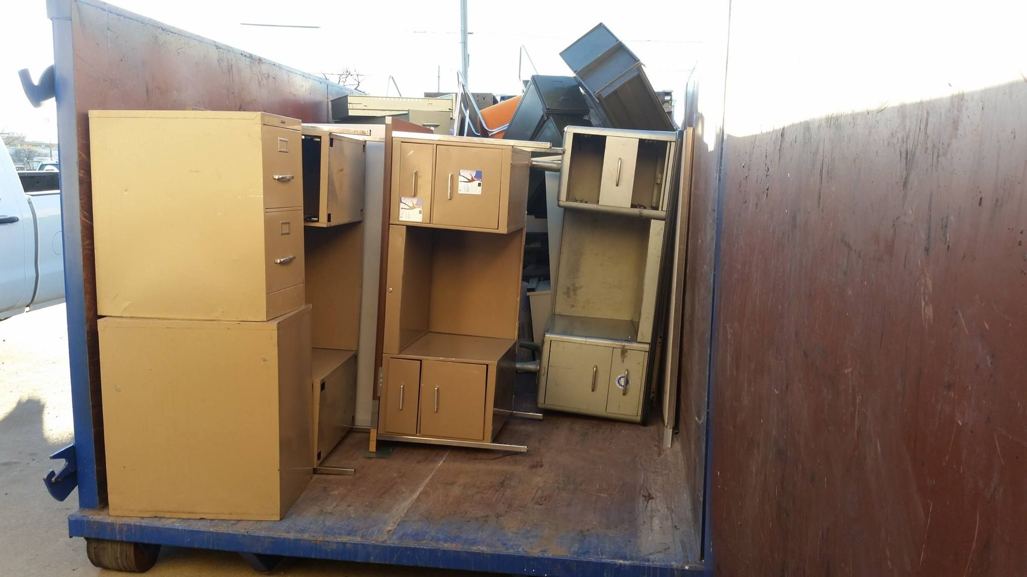Do you have a pile of junk, debris, office equipment