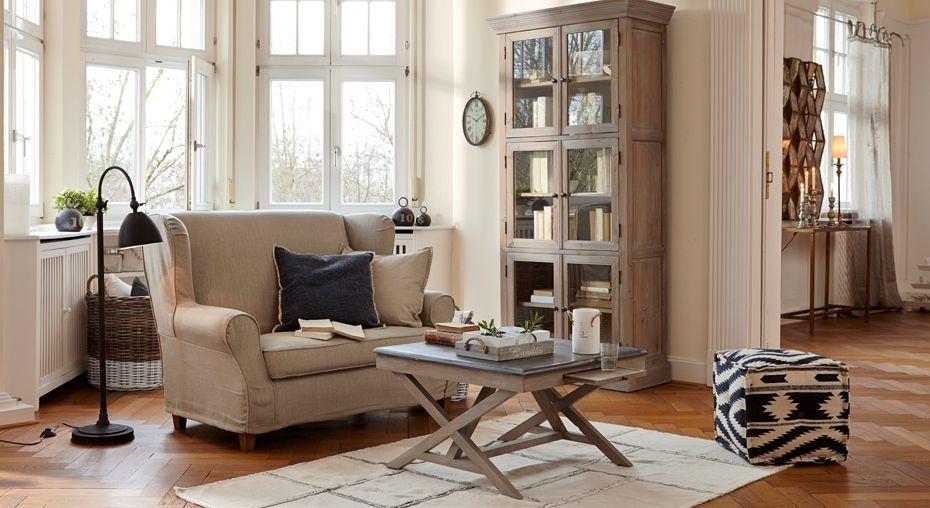 Zauberhaftes Landhaus-Wohnzimmer mit dem gewissen Etwas\