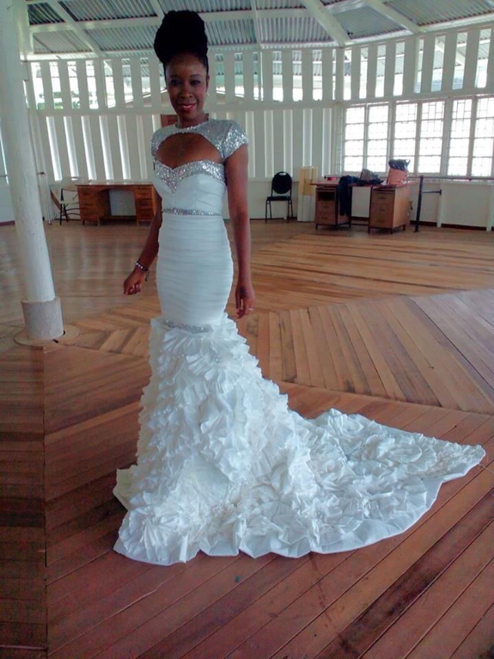 Designer : Mwanza Glenn  Model:Keshea