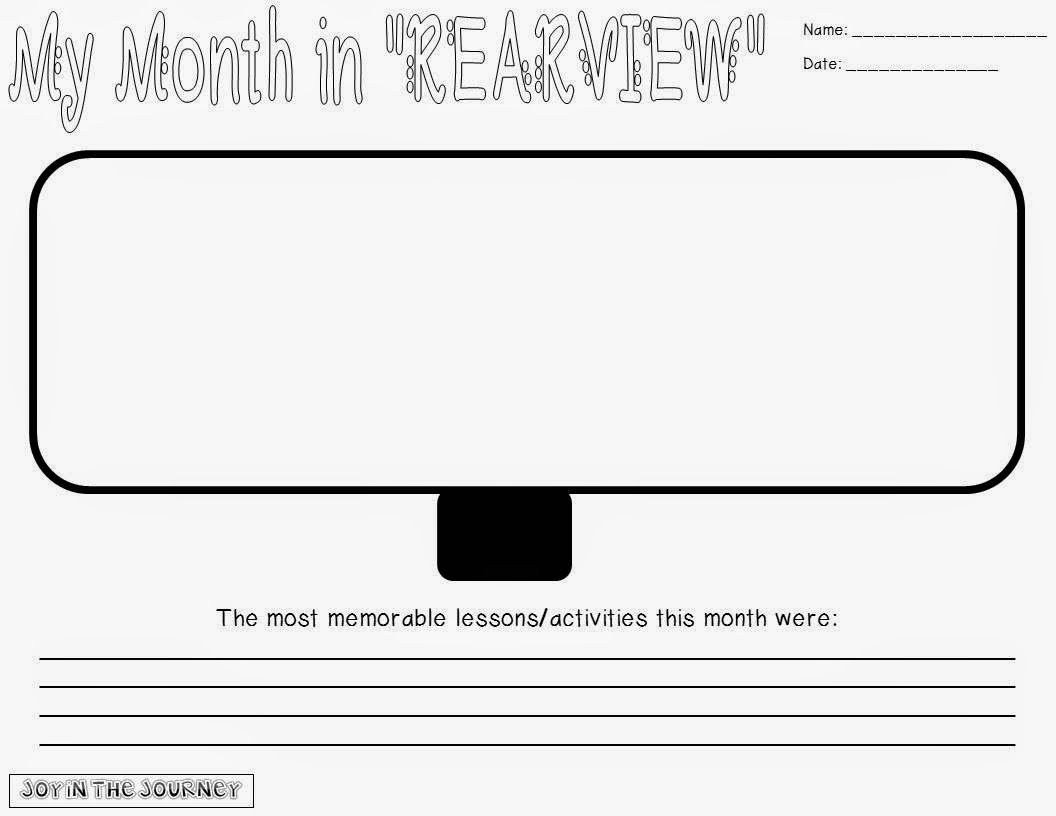 Free Student Reflection Tool My Week In Rearview