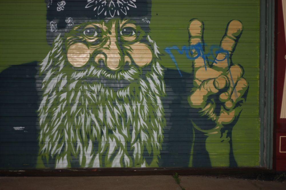 Hippie Graffiti in St.Louis