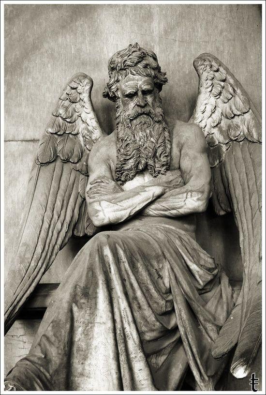 Cronus Greek Mythology Statue Black And Grey Art