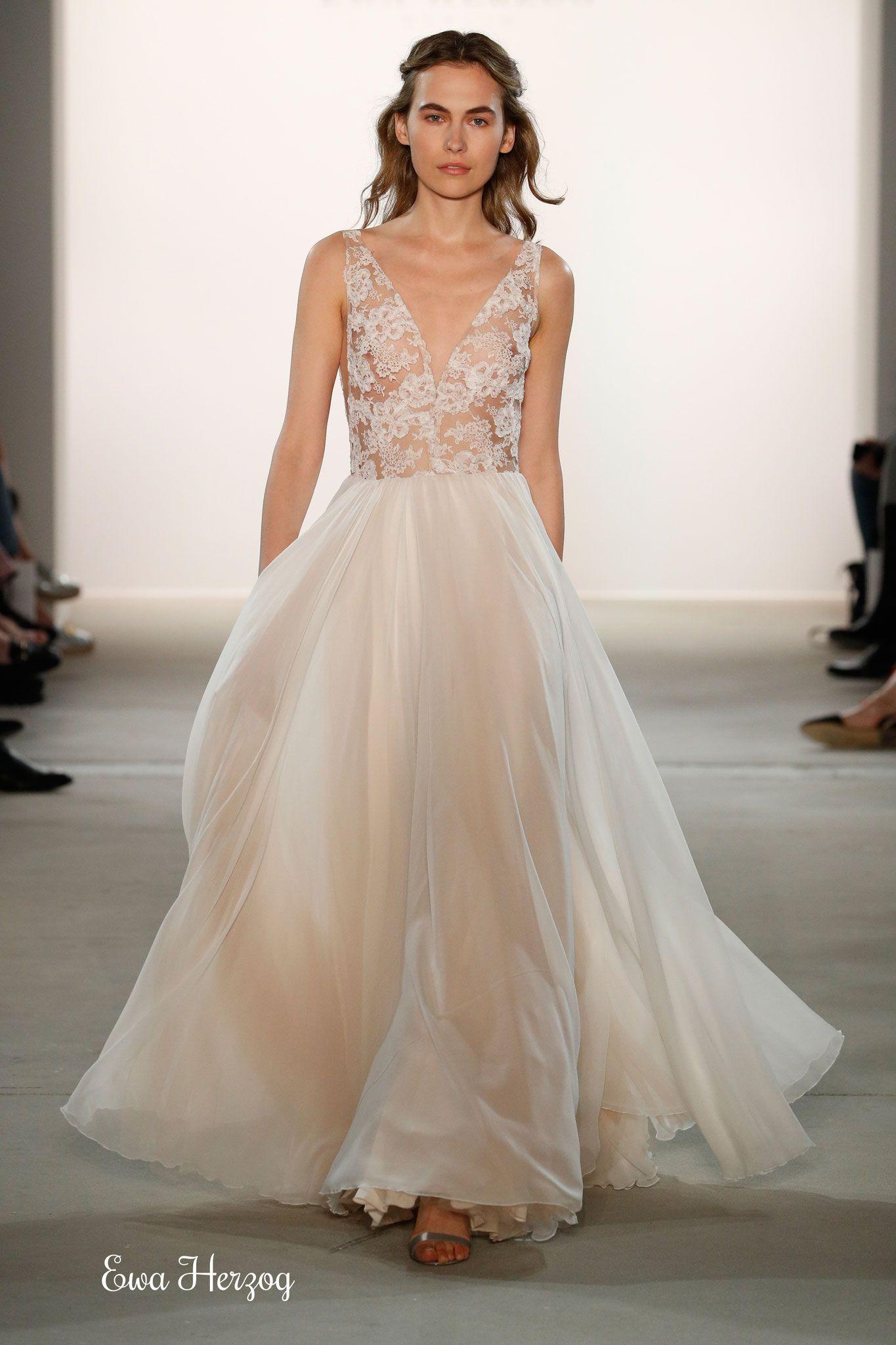 Die schönsten Hochzeitskleider der Berlin Fashion Week  Kleider
