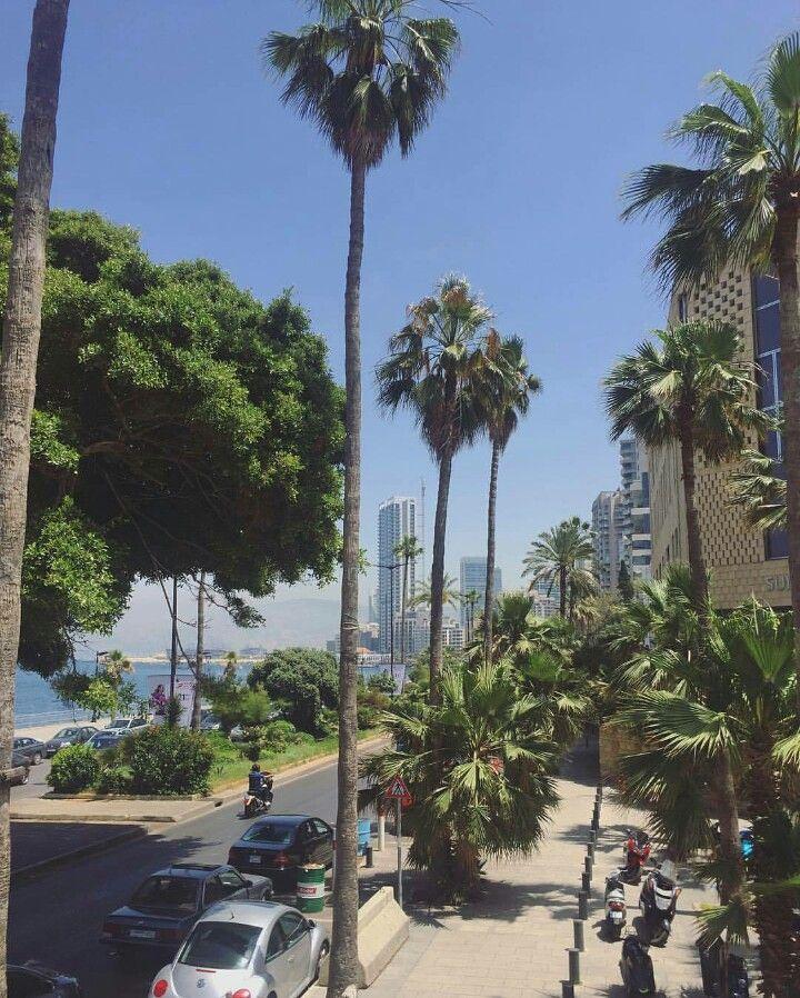 Beirut promenade
