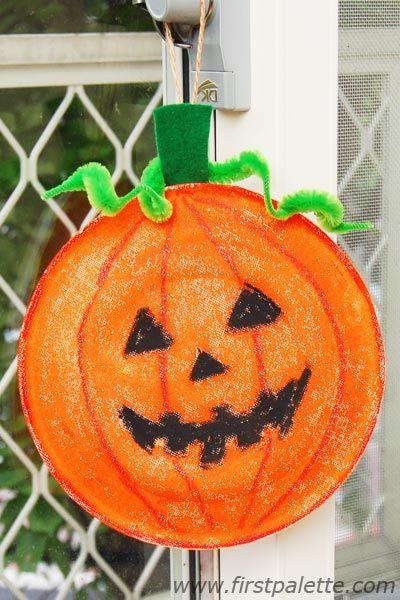 Step 11 Paper Plate Pumpkin craft & Step 11 Paper Plate Pumpkin craft | ?sz: Tök - Halloween | Pinterest ...