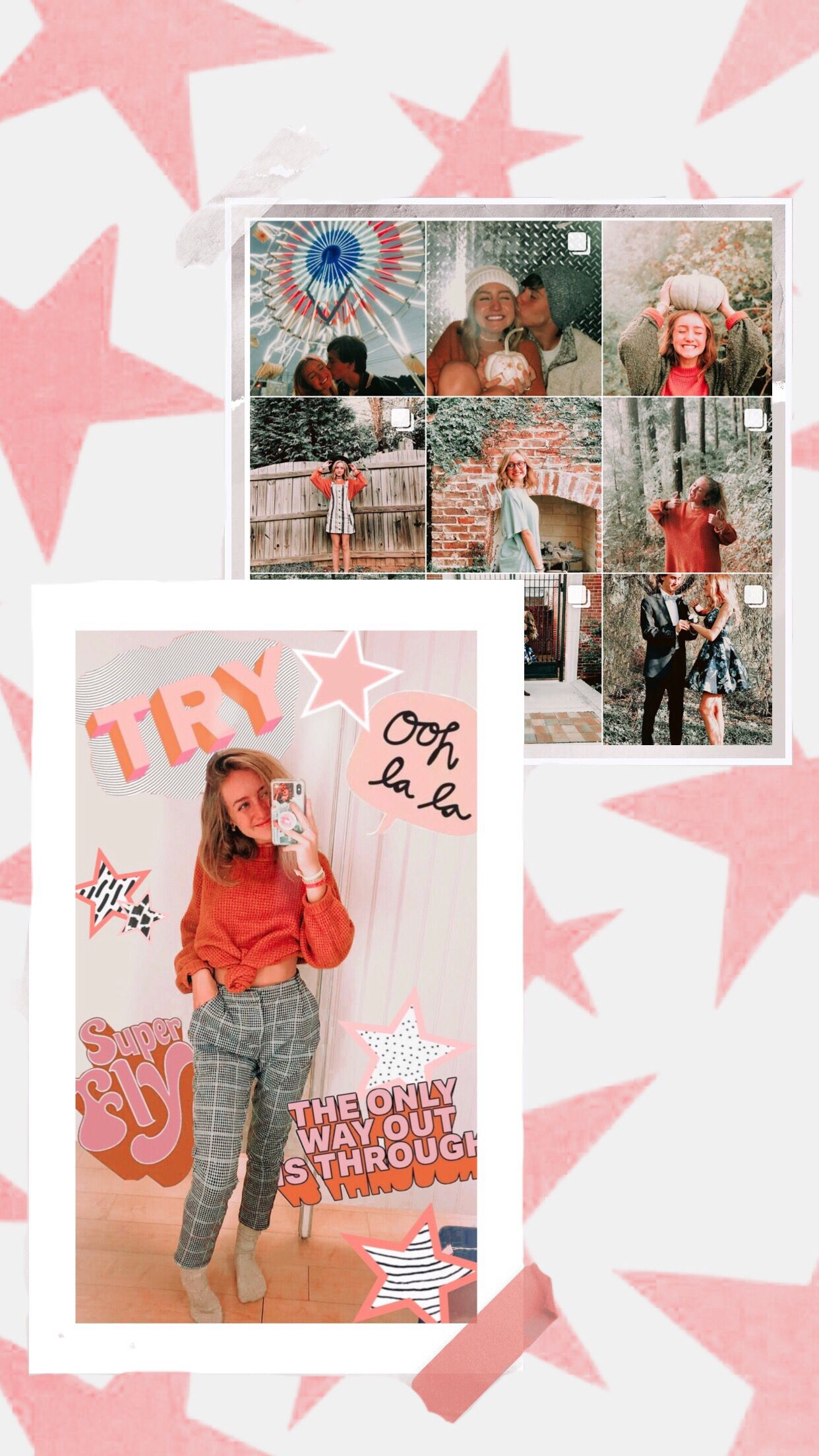 Vsco Cambreyjohnson Instagram Story Ideas Collage Background Instagram Ideas Photography