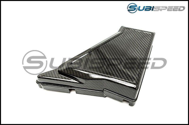 Olm Le Dry Carbon Fiber Fuse Box Cover 2015 2020 Wrx Sti