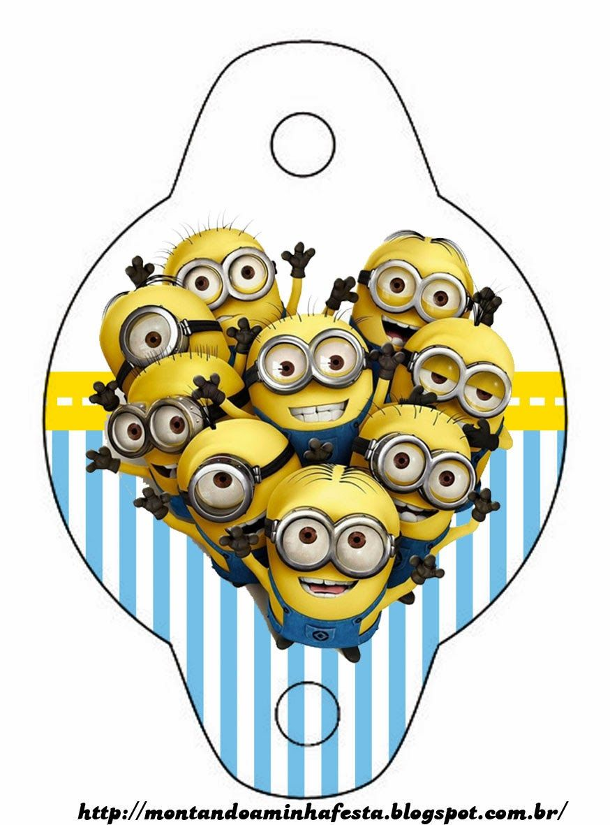 despicable me invitations and party free printables minions