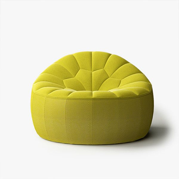 3d ottoman ligne roset model - ligne roset ottoman armchair by, Wohnzimmer dekoo