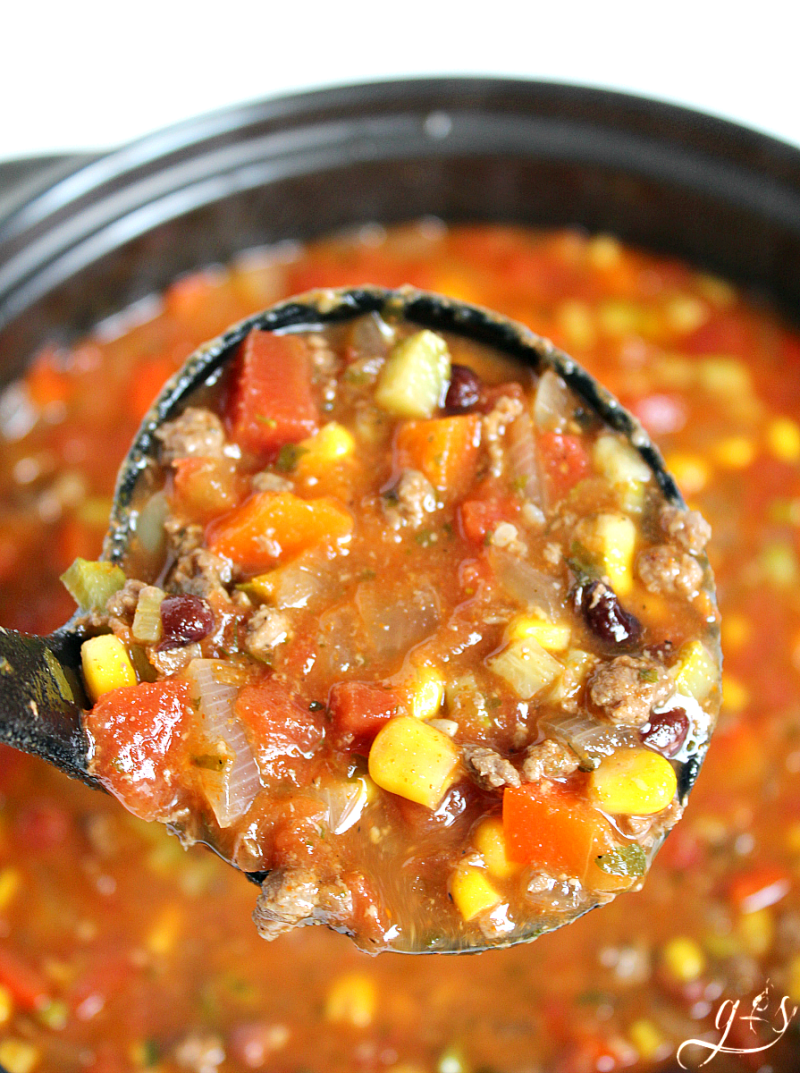 recipe: healthy taco soup with ground turkey [24]