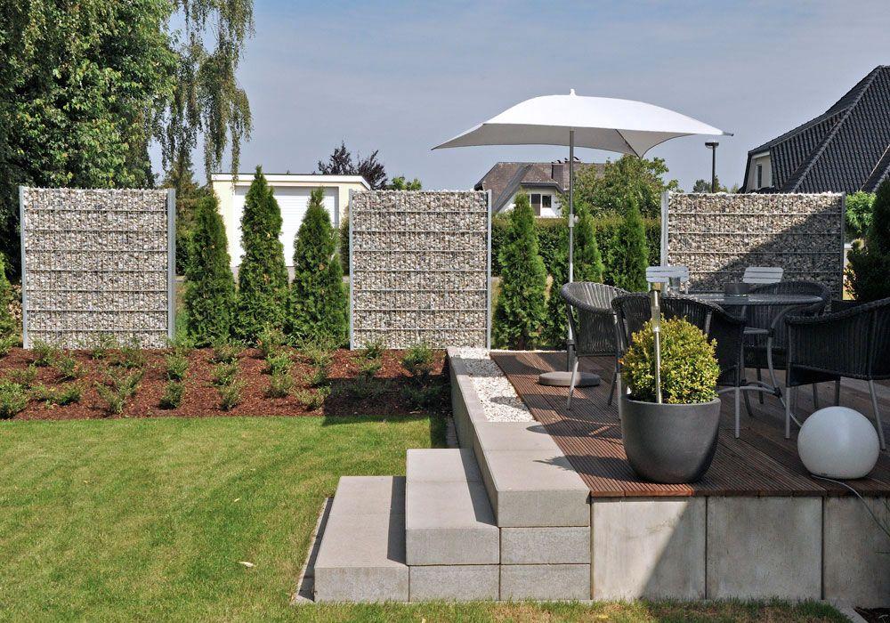 wwwfrag-kuhlmannde/img/gabionen/Gabione-2jpg Garden - reihenhausgarten vorher nachher