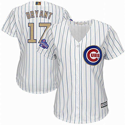 Outerstuff Javier Baez Chicago Cubs MLB Boys Toddler 2-4 Player Jersey