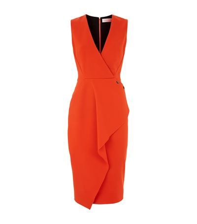 Victoria Beckham Fitted Wrap Dress available at harrods.com. Shop women's designer fashion online & earn reward points.