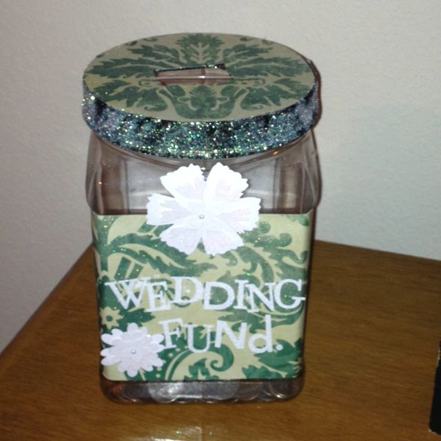 Grown Up Piggy Bank Wedding Fund