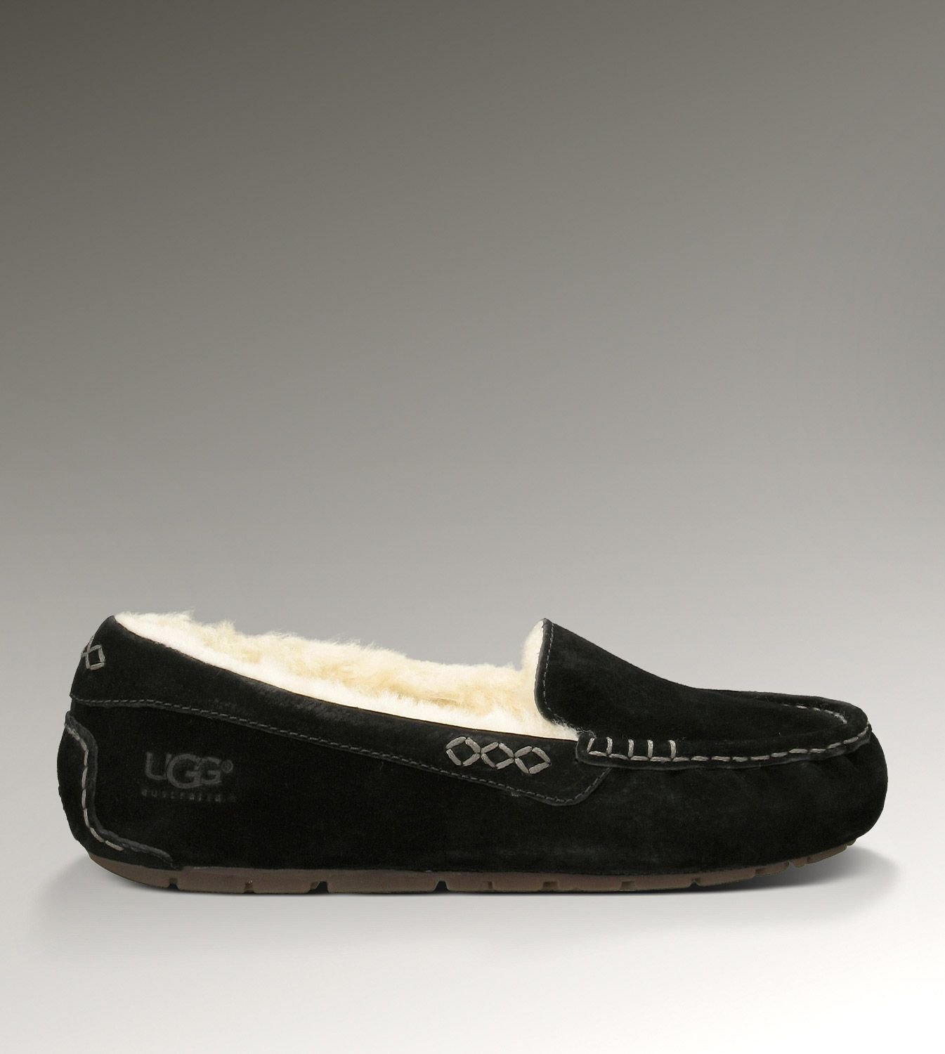 ugg ansley 3312 black slippers ugg slippers pinterest uggs rh pinterest co uk