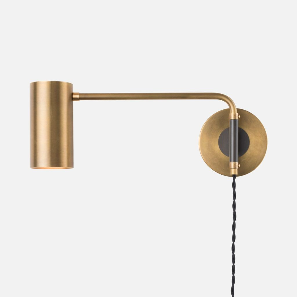 Wall Lamp Stunning Swing Arm Sconce Envoy Plug