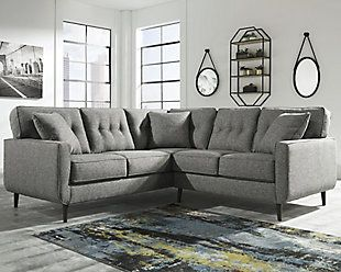Zardoni 2 Piece Sectional Rollover Furniture Ashley