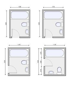 23++ Salle de bain 3x2m inspirations