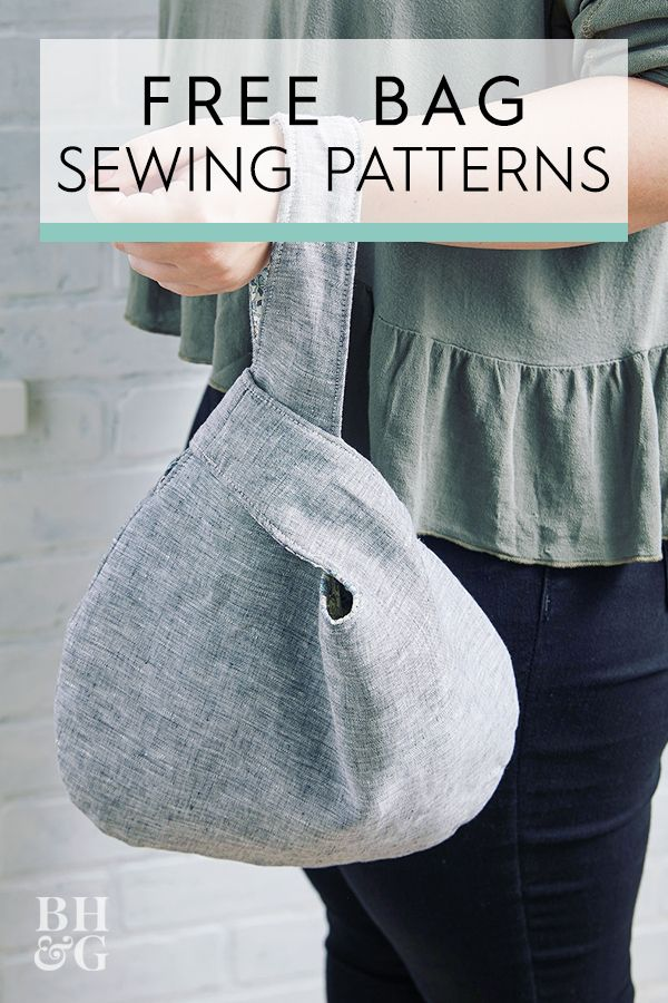 Photo of Free Sewing Patterns: 13 Handmade Bags for Every Occasion