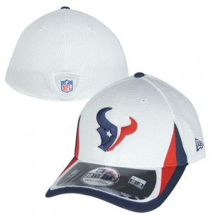 b4e0fd488c9 Houston Texans New Era NFL Training 3930 Stretch Sz Hat (White ...