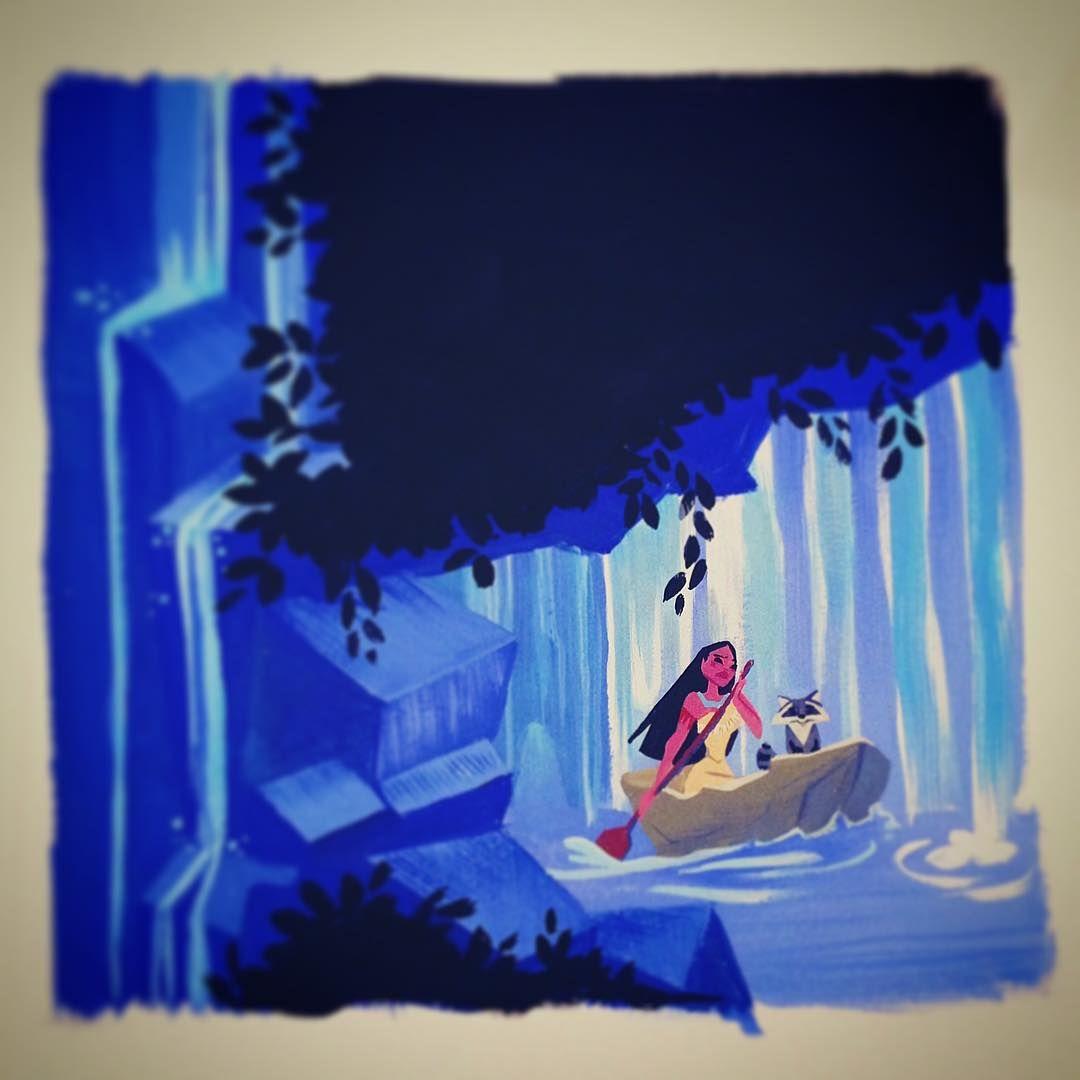 Pocahontas lorelay bové artista actual pinterest illustrations