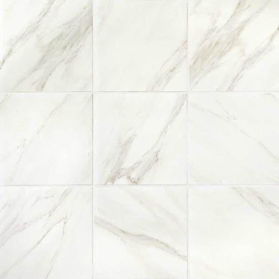Mirasol Glazed Porcelain Tile American Olean Bianco
