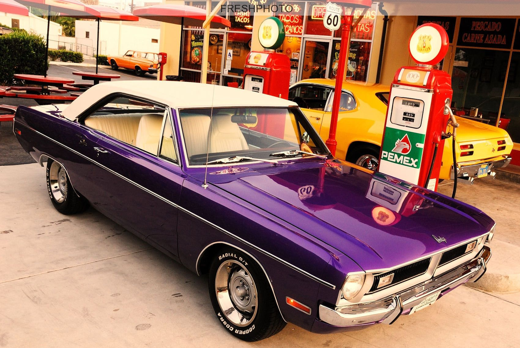 1976dodge dart swinger vinyl top