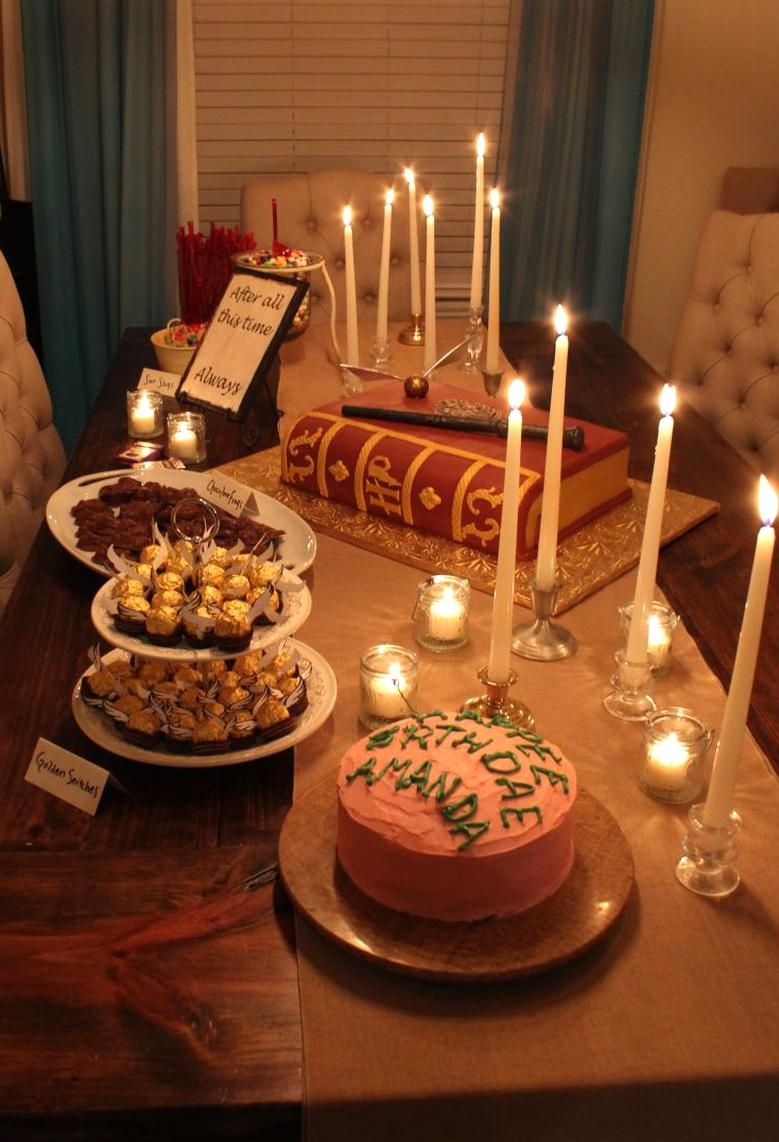 Harry Potter Christmas Marathon 2020 Great ideas for Harry Potter themed party or Halloween Decorations