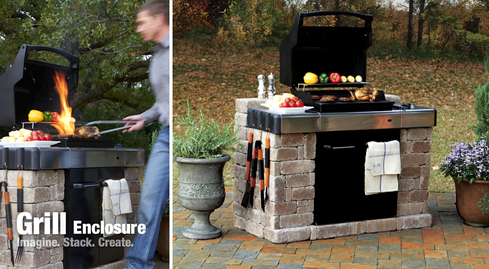 DIY OUT DOOR GRILLING STATION - Google Search | Backyard ideas ...