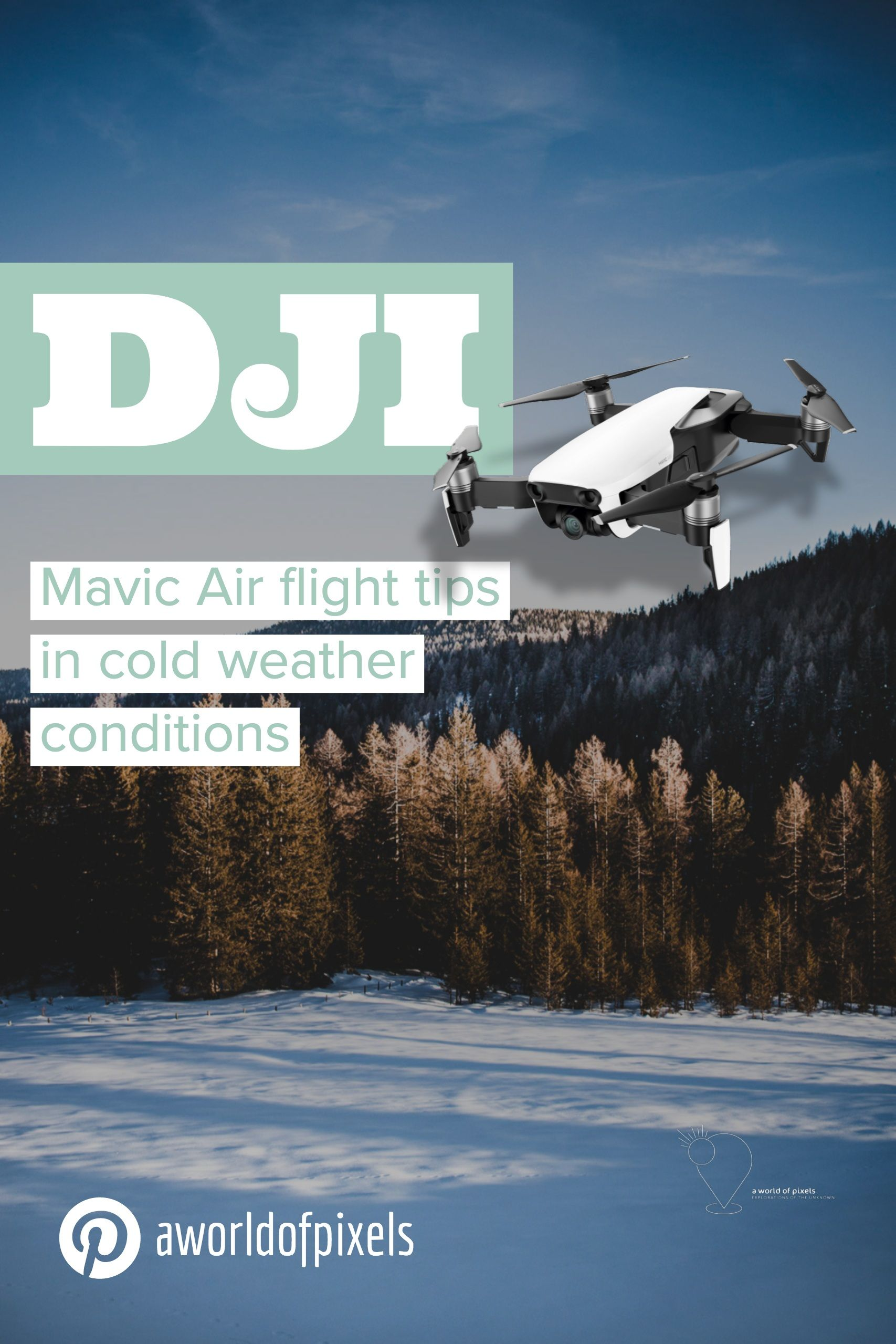These are my 12 expert tips on how to fly the DJI Mavic