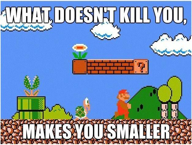 Funny Pictures Of Mario Good Idea Bad Idea