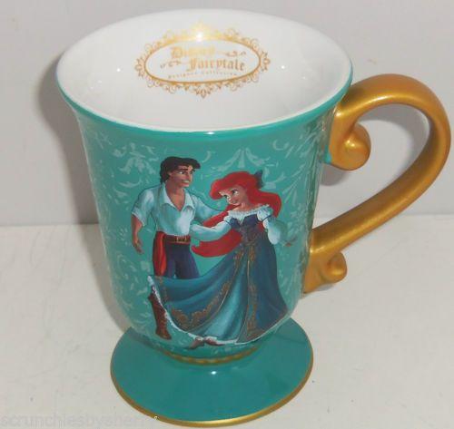 Disney Ariel Eric Mug Coffee Cup Mermaid Princess Designer