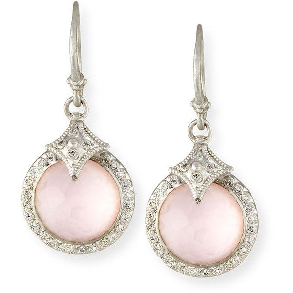 Armenta New World Rose Doublet Earrings with Diamonds zdTmS