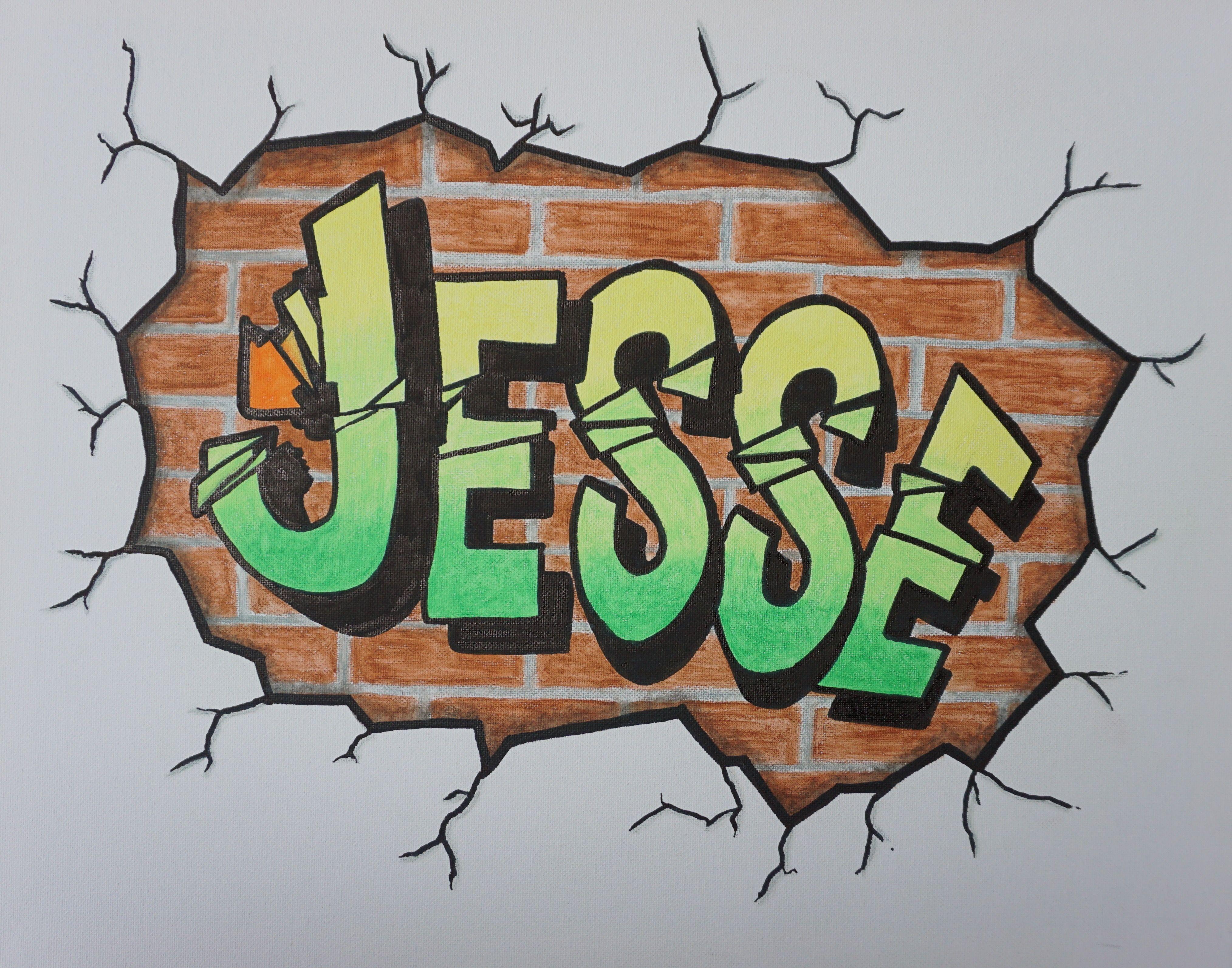 Populair Deze graffiti tekening is het geworden voor de surprise. | Fraukes #PQ43